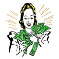 Oletko hyvä tienaamaan rahaa?